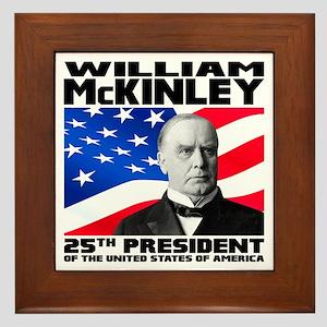 25 McKinley Framed Tile