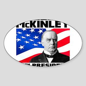 25 McKinley Sticker (Oval)
