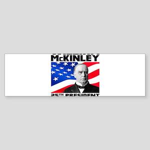 25 McKinley Sticker (Bumper)