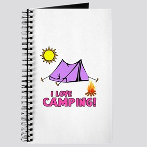 I Love Camping-3-Pink Journal