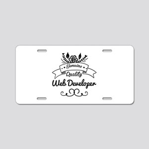 Genuine Quality Web Develop Aluminum License Plate