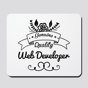 Genuine Quality Web Developer Mousepad