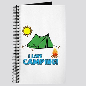 I Love Camping-3-Blue Journal