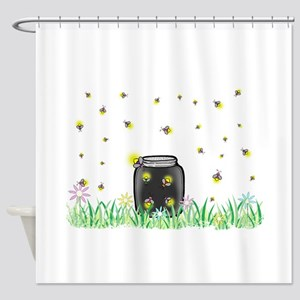 Summer Night Shower Curtain