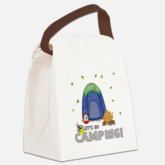 Its the weekend-lets go camping-2 Canvas Lunch Bag