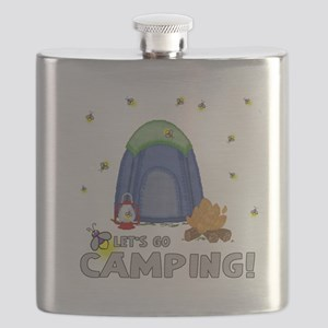 Its the weekend-lets go camping-2 Flask