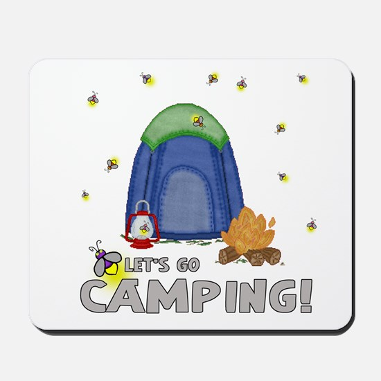 Its the weekend-lets go camping-2 Mousepad