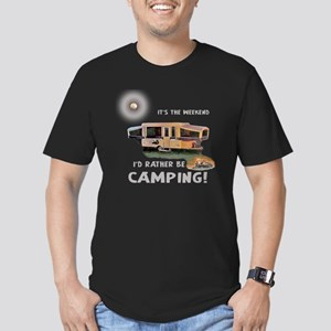Its the weekend-Id rather be camping-1 copy T-Shir