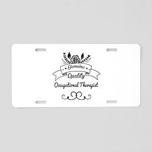 Genuine Quality Occupationa Aluminum License Plate