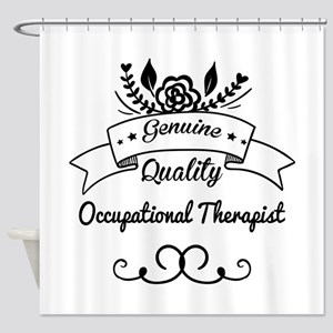 Genuine Quality Occupational Therap Shower Curtain