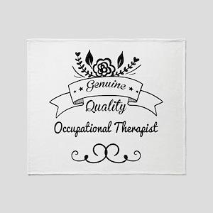 Genuine Quality Occupational Therapi Throw Blanket