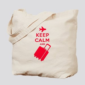 Keep Calm and Carry on Luggage Tote Bag