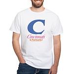 Cincinnati Is Fantastic T-shirt (white)