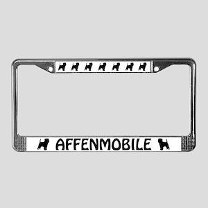 Affenpinscher License Plate Frame
