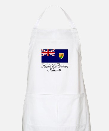 The Turks and Caicos Islands BBQ Apron