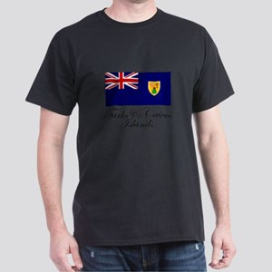 The Turks and Caicos Islands Dark T-Shirt