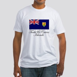 The Turks and Caicos Islands Fitted T-Shirt