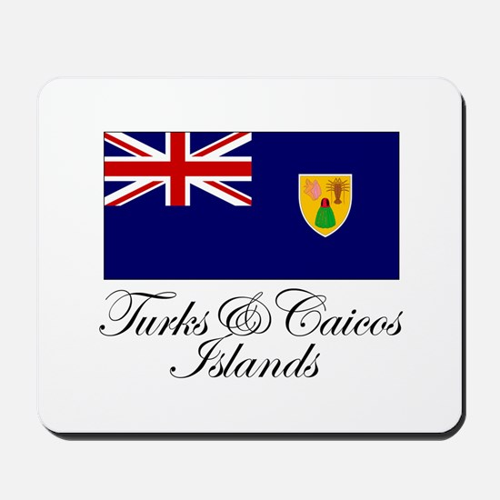 The Turks and Caicos Islands Mousepad