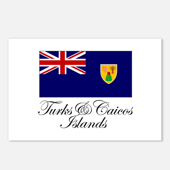 The Turks and Caicos Islands Postcards (Package o