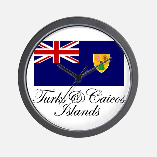 The Turks and Caicos Islands Wall Clock