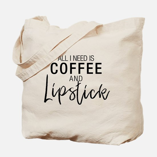 Coffee+Lipstick Tote Bag