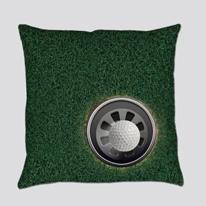 Golf Cup and Ball Everyday Pillow