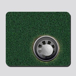 Golf Cup and Ball Mousepad