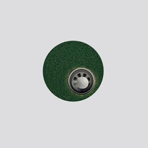 Golf Cup and Ball Mini Button