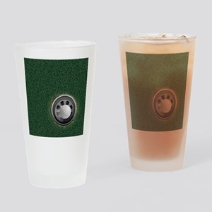 Golf Cup and Ball Drinking Glass