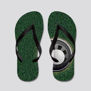 Golf Cup and Ball Flip Flops
