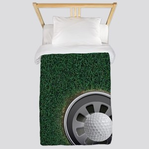 Golf Cup and Ball Twin Duvet