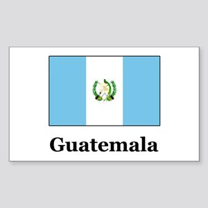 Guatemala Rectangle Sticker