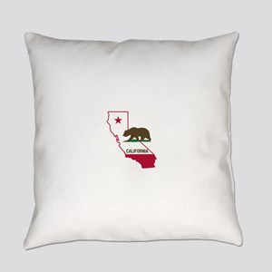 CALI STATE w BEAR Everyday Pillow