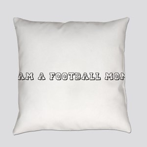 FOOTBALL MOM Everyday Pillow