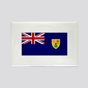 The Turks and Caicos Islands Rectangle Magnet