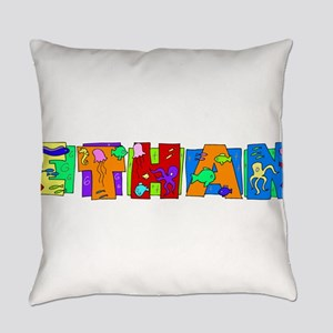 ETHAN22_FISH Everyday Pillow