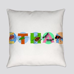 ETHAN24_BUGS Everyday Pillow