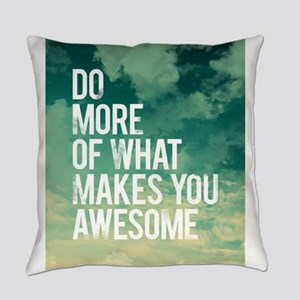 Do more Awesome Everyday Pillow