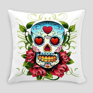 SugarSkull1 Everyday Pillow