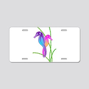 SeaHorse Sea-lebrities Aluminum License Plate