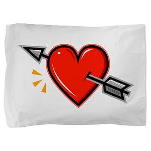 HEART_ARROW Pillow Sham