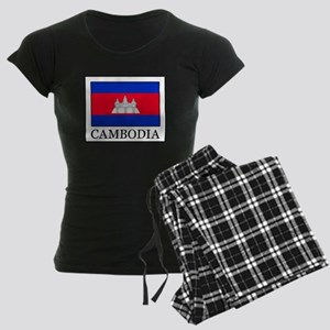 Cambodia Women's Dark Pajamas