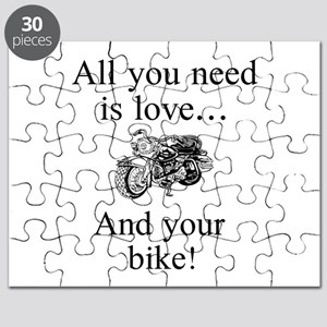 All you need is your bike Puzzle