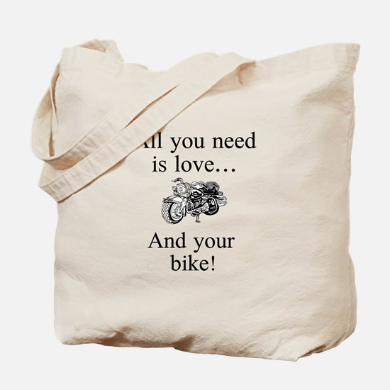 All you need is your bike Tote Bag