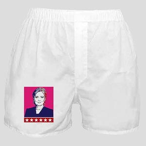 Hillary Clinton in 2016 Boxer Shorts
