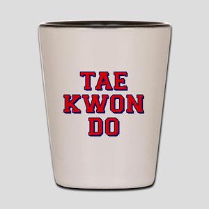 Taekwondo Shot Glass