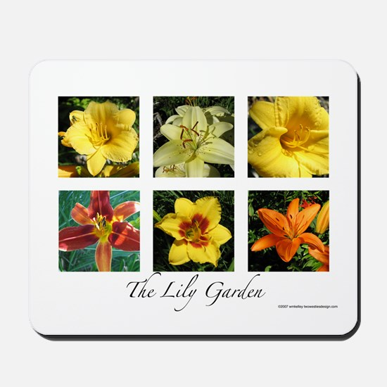 The Lily Garden Mousepad