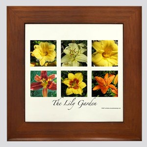 The Lily Garden Framed Tile
