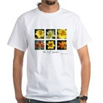 The Lily Garden White T-Shirt