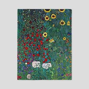 Farmergarden Sunflower by Klimt Twin Duvet